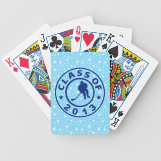 Class Of 2013 Hockey Bicycle Playing Cards