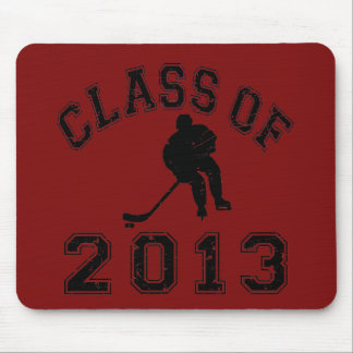 Class Of 2013 Hockey - Black 2 D Mouse Pad