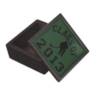 Class Of 2013 Hockey - Black 2 Jewelry Box
