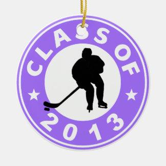 Class Of 2013 Hockey Ceramic Ornament