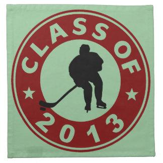 Class Of 2013 Hockey Cloth Napkin