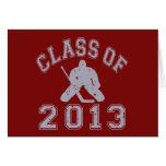 Class Of 2013 Hockey Goalie Card