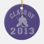 Class Of 2013 Hockey Goalie Christmas Ornaments