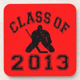 Class Of 2013 Hockey Goalie Coaster