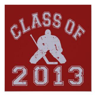 Class Of 2013 Hockey Goalie Invitation