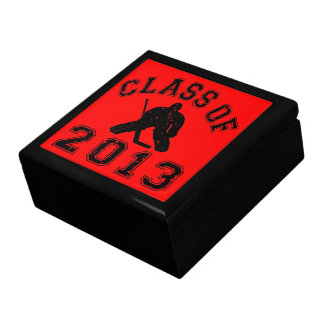 Class Of 2013 Hockey Goalie Keepsake Boxes
