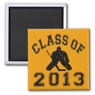 Class Of 2013 Hockey Goalie Magnets
