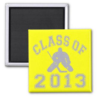 Class Of 2013 Hockey Goalie Magnet