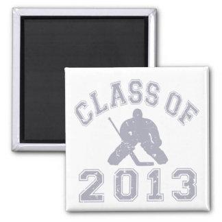 Class Of 2013 Hockey Goalie Fridge Magnet
