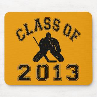 Class Of 2013 Hockey Goalie Mouse Pad