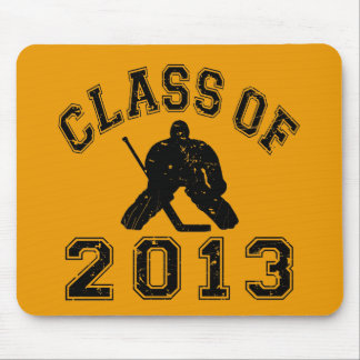 Class Of 2013 Hockey Goalie Mouse Pad