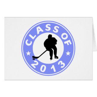 Class Of 2013 Hockey Greeting Card