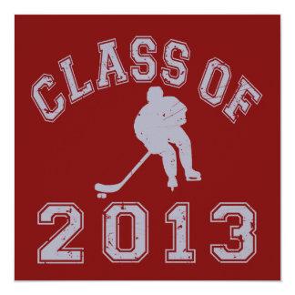 Class Of 2013 Hockey - Grey 2 Invitation