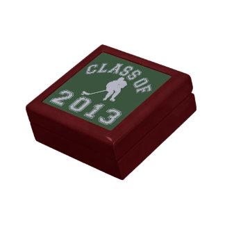 Class Of 2013 Hockey - Grey 2 Jewelry Box