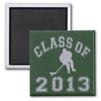 Class Of 2013 Hockey - Grey 2 Refrigerator Magnet