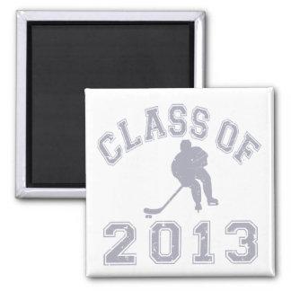 Class Of 2013 Hockey - Grey 2 Magnets