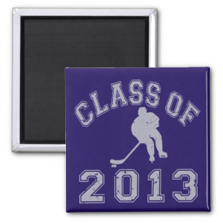 Class Of 2013 Hockey - Grey 2 Magnet