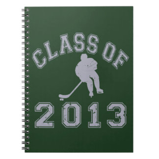 Class Of 2013 Hockey - Grey 2 Note Books