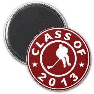 Class Of 2013 Hockey Fridge Magnets