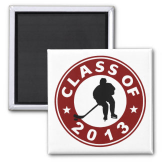 Class Of 2013 Hockey Magnets