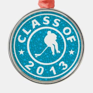 Class Of 2013 Hockey Metal Ornament