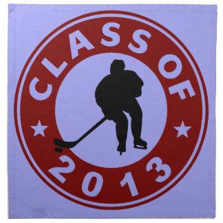 Class Of 2013 Hockey Napkin