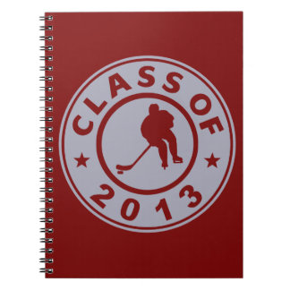 Class Of 2013 Hockey Spiral Notebooks