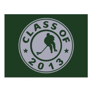 Class Of 2013 Hockey Postcard