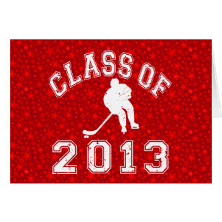 Class Of 2013 Hockey Stationery Note Card