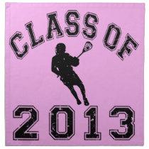 Class Of 2013 Lacrosse Napkin
