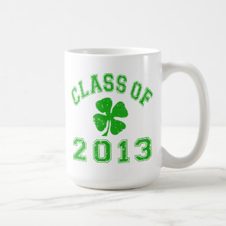 Class Of 2013 Lucky Shamrock Coffee Mug