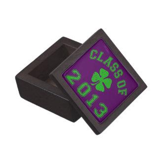 Class Of 2013 - Lucky Shamrock Gift Box
