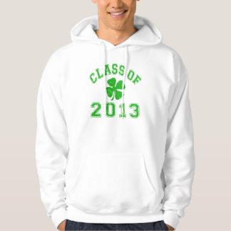 Class Of 2013 - Lucky Shamrock Hoodie