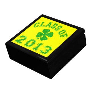 Class Of 2013 - Lucky Shamrock Jewelry Box