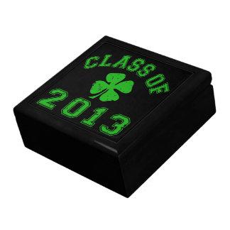 Class Of 2013 - Lucky Shamrock Keepsake Box