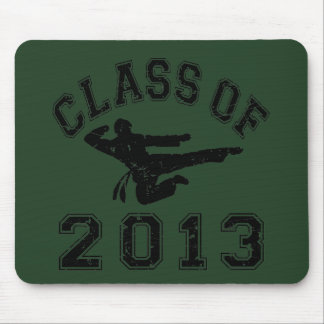 Class Of 2013 Martial Art - Black 2 Mouse Pad