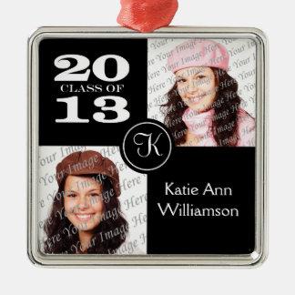 Class of 2013 Monogram Photo Ornament