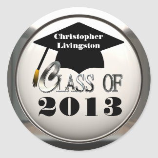 Class Of 2013 Or Any Year Graduation Stickers