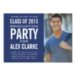 "CLASS OF 2013 PARTY INVITATION PHOTO 5"" X 7"" INVITATION CARD"