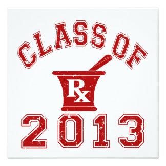 Class Of 2013 Pharmacist Card