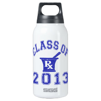 Class Of 2013 Pharmacist 10 Oz Insulated SIGG Thermos Water Bottle