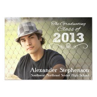 Class of 2013 Photo Overlay Graduation Personalized Invitation