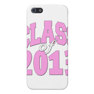 Class of 2013 pink case for iPhone SE/5/5s