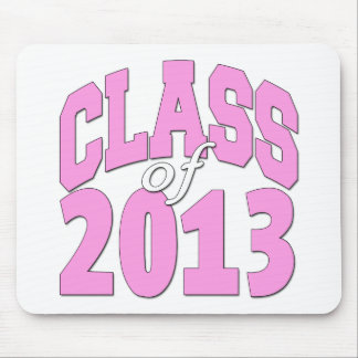 Class of 2013 pink mouse pad