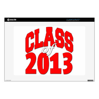 Class of 2013 (red2) decal for laptop