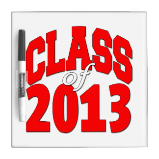 Class of 2013 (red2) Dry-Erase board