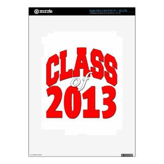 Class of 2013 (red2) iPad 3 skin