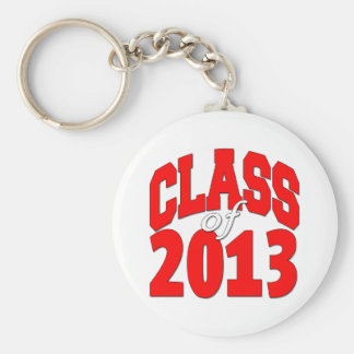 Class of 2013 (red2) keychains
