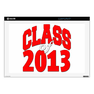 Class of 2013 (red2) laptop decal