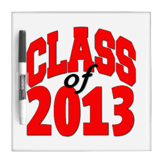 Class of 2013 (red) Dry-Erase board